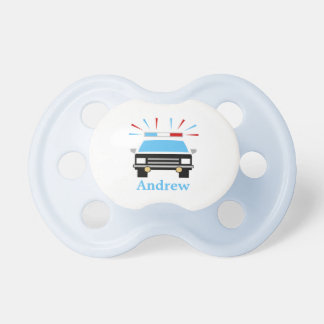 Personalized | Police Car Pacifiers