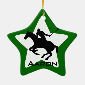 Personalized Polo Ornament