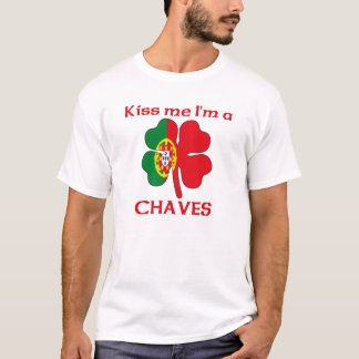 Personalized Portuguese Kiss Me I'm Chaves T-Shirt