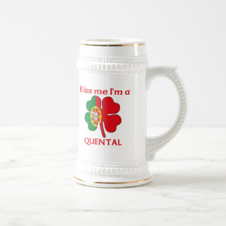 Personalized Portuguese Kiss Me I'm Quental Mug