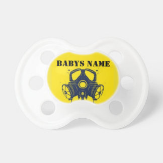 PERSONALIZED PREPPER PACIFICER PACIFIERS