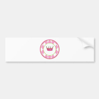 Personalized Princess Bumper Sticker