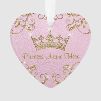 Personalized Princess Ornaments Double Sided