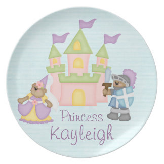 Personalized Princess Plate