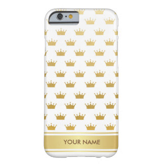 Personalized Princess Royal Glam White Gold Case