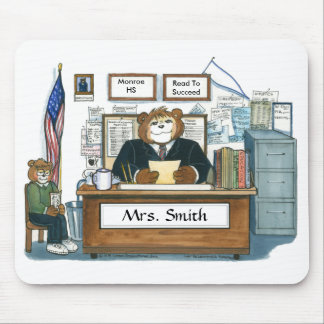 Personalized Principal Mouse Pad