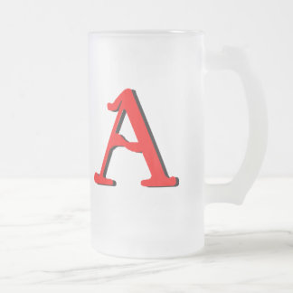 Personalized Products: Initial A Mug