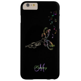 Personalized Psychedelic Trumpet Music iPhone Case