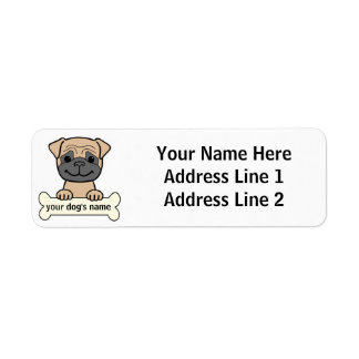 Personalized Pug