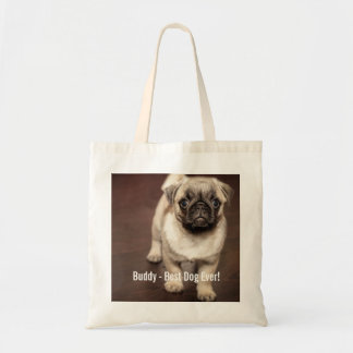 Personalized Pug Dog Photo and Your Pug Dog Name