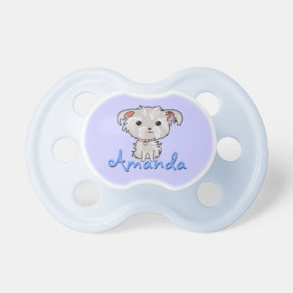 Personalized Puppy Pacifier
