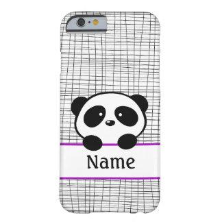 Personalized Purple Panda iPhone 6 case