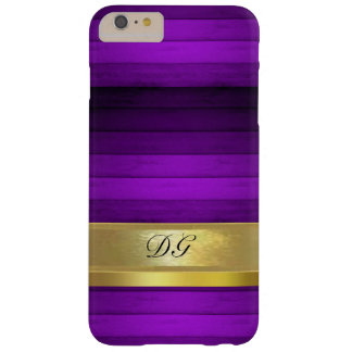 Personalized Purple Pattern iPhone 6 Plus Case