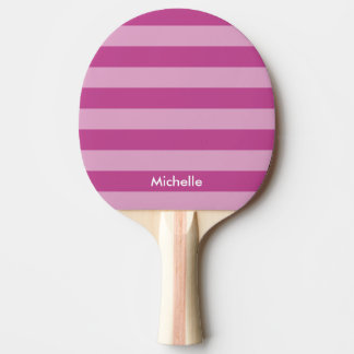 Personalized purple table tennis ping pong paddle