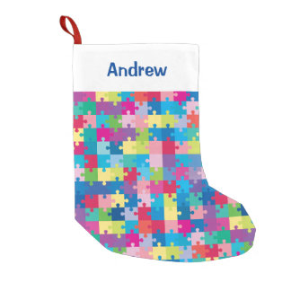 Personalized Puzzle Pattern Autism Awareness