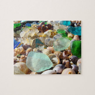 Personalized Puzzles Holiday Gifts Beach Seaglass