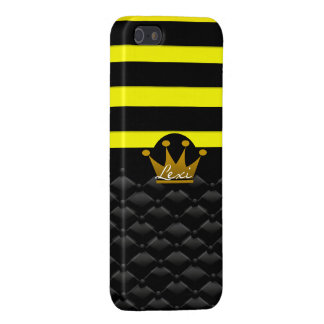 Personalized Queen Bee Iphone 5 Cover YOUR NAME