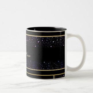 Personalized Rainbo Jewel Night Sky Collection Mug
