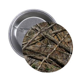 Personalized Real Camo / Camouflage (customizable) 6 Cm Round Badge