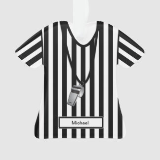 Personalized Referee with Whistle
