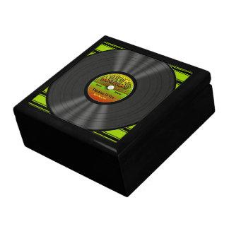 Personalized Reggae Vinyl Record Gift Box