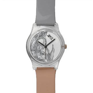 Personalized Rhinoceros Watch