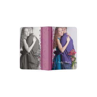 Personalized Romantic Photo Passport Holder