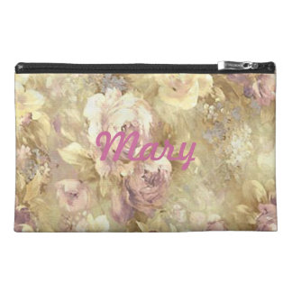 Personalized Rose Garden Travel Accessory Bag
