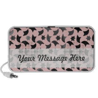 Personalized Rose Quartz Star Mosaic iPhone Speaker