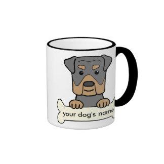 Personalized Rottweiler Mug