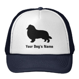 Personalized Rough Collie ラフ・コリー Trucker Hats