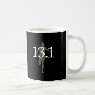 Personalized Runner 13.1 Half Marathon Keepsake Basic White Mug