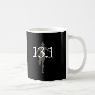Personalized Runner 13.1 Half Marathon Keepsake Coffee Mugs