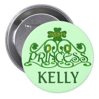 Personalized Saint Patrick s Day Irish Button