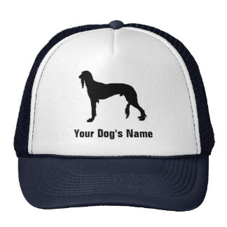 Personalized Saluki (or Gazelle Hound) サルーキ Cap