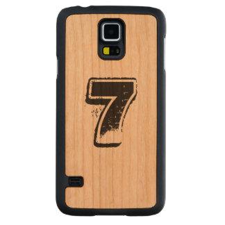 Personalized Samsung S5 wooden case Cherry Galaxy S5 Slim Case