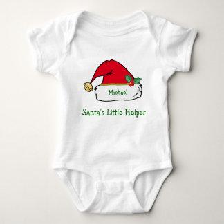 Personalized Santa Helper Christmas T-Shirt