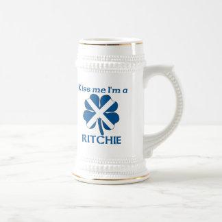 Personalized Scottish Kiss Me I m Ritchie Mugs