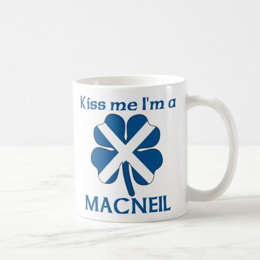 Personalized Scottish Kiss Me I'm Macneil Coffee Mug