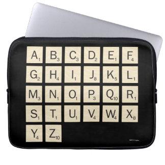 Personalized Scrabble Laptop Sleeve