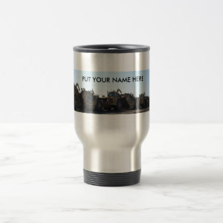 Personalized scraper go mug