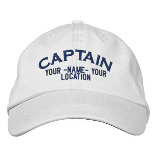 Personalized Sea Captain Hat fd9ff4493eb1