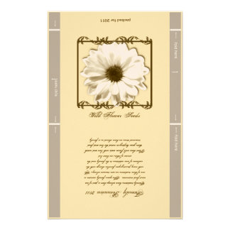 Personalized Seed Packet Customized Stationery