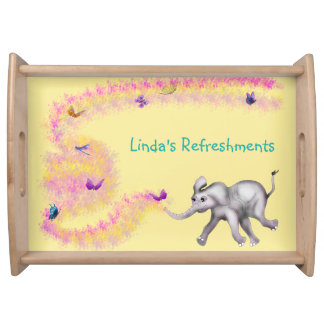 Personalized Serving Tray - Fanti