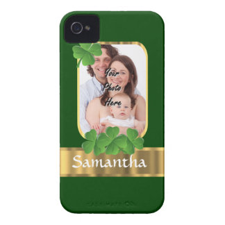 Personalized shamrock iPhone 4 cover