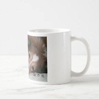 Personalized Sheltie Mug