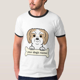 Personalized Shih Tzu T-Shirt