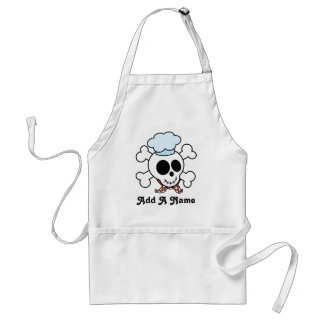 Personalized Skull Chef Gift Standard Apron