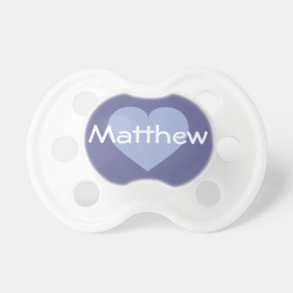 Personalized sky blue heart dummy