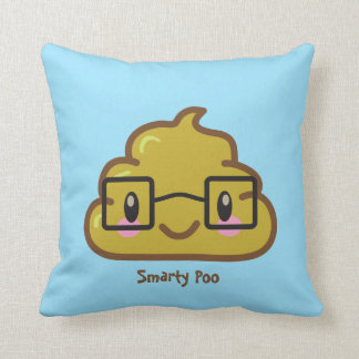 Personalized Smarty Poo Throw Cushions